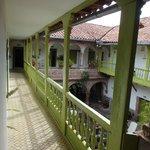 Second floor courtyard.
