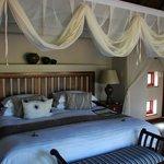 Room 1 - big bed!