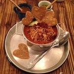 Tortilla soup ... From the heart !
