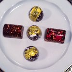 Hand painted Bonbons by Chef Bachour