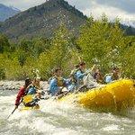Wenatchee River class 3 rafting in Leavenworth, WA.