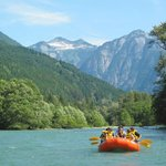 Upper Skagit river rafting in August, gorgeous day!
