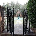 Tea Garden Entrance