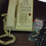 This phone did not work properly, no dial tone - I could not contact the front desk.