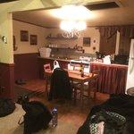 Full indoor kitchen in the Minnie Lillie