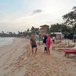 Beach restaurants few minutes from EKA