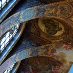 Ceiling vaults and fresco paintings