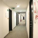 Well lit corridor