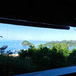 Labuan Bajo's bay from veranda