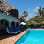 pool at the Zanzibar Retreat