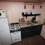 Kitchen in the casita