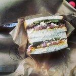 A real mans sandwich...
