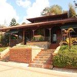 An upper level bungalow