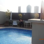 Swiming Pool area at Roof top