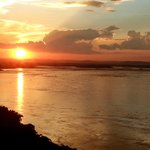 Sunset on the River Congo