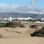 No getting lost in the dunes! - hotel visible from just about everywhere