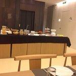 Breakfast at Hotel Denit