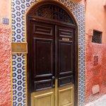Riad entrance