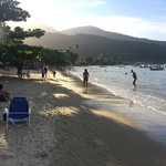 Beach in maintown Abrao