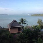 amazing view from our hotel room at Westin Phuket