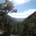 Cumbre Nueva und die überschwappenden Wolken