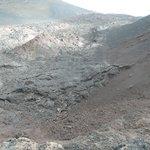 Erkaltete Lavafelder
