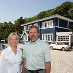 The owners Anette and Eric - welcome to our hotel