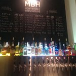 The beer list. All good stuff.