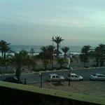 Vue à partir de ma chambre du site de Hammamet Yasmine
