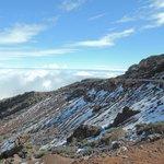 Auf 1500 mtr. ist man schon über den Wolken und in der Sonne :-)