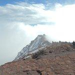 Immer wieder nahmen Nebelschwaden die Sicht, sah aber toll aus