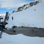 Sarenne - A New kind of Black - Stream  to manoeuvre across. Where is the snow?