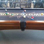 Barnstormers Pool Table in the Eagles Nest