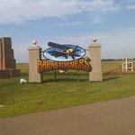 Entrance Sign to Barnstormers