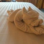 Towel arrangement
