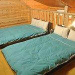 ロフトのベッドルーム