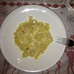 Pasta with Pecorino cheese