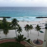 View from room 415 balcony at Barbados Hilton Resort.