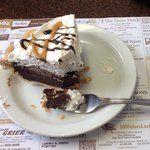 Chocolate peanut butter pie - excellent!