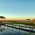 Muelles sobre la Laguna Iberá