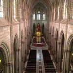View of inside Basilica