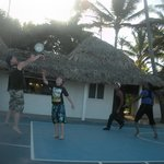 Basketball with Maikel and Raphael