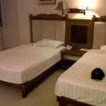 Guest room beds