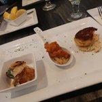 seafood teaser bites at Duval's
