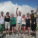 wondreful friends i shared climbing the volcano with