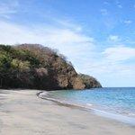 пляж с видом на Тихий океан