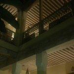 particolare dei soffitti degli spazi comuni
