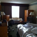 Our king size room.