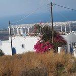 Villa Agnadi viewed from the road