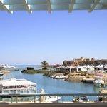 Marina View von der Terrasse im 1.OG